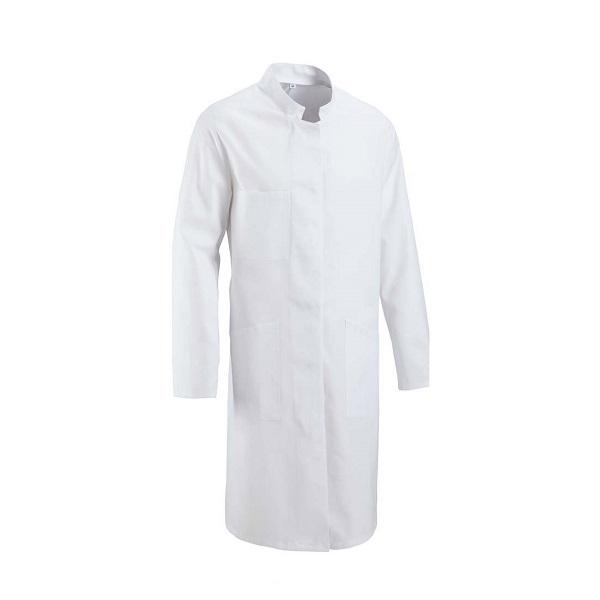 روپوش سفید مردانه یقه گرد