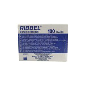 تیغ جراحی ریبل - تیغ بیستوری ریبل بسته 100 عددی