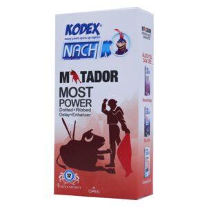 کاندوم کدکس مدل Matador بسته ۱۲ عددی